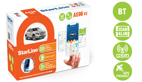 AS96v2 bt 2can4lin gsm gps